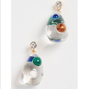 SHASHI glass Gemz Earrings (never worn)!